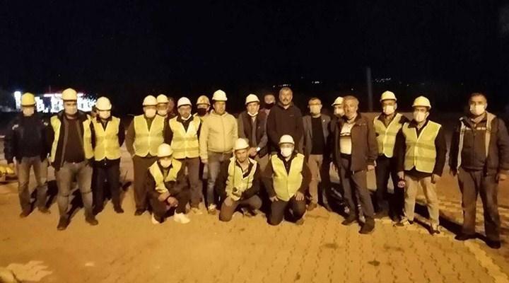 Somalı maden işçileri, İzmir'e gitti: Arama kurtarma çalışmalarına katıldılar