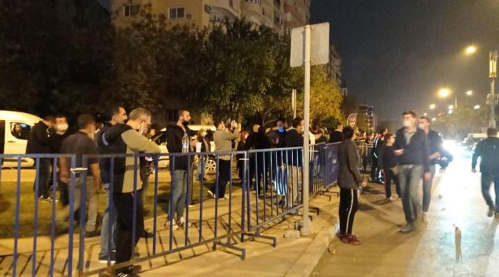 """Binali Yıldırım İzmir'de: Polis, bariyerlerle """"Yıldırım'ın güvenliği""""ni sağladı!"""