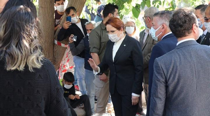 Meral Akşener, deprem bölgesinde inceleme yaptı