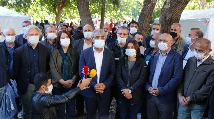 HDP Eş Genel Başkanı Sancar, İzmir'de: Felaketi yaratan rant düzeni