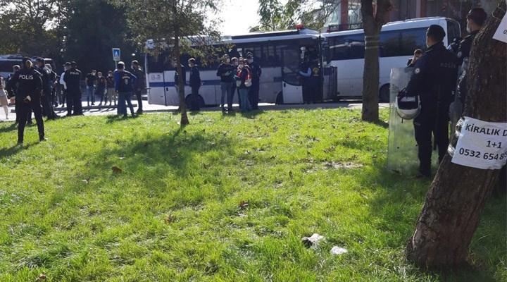 BİMEKS işçilerinin oturma eylemine polis müdahalesi: 7 işçi gözaltına alındı