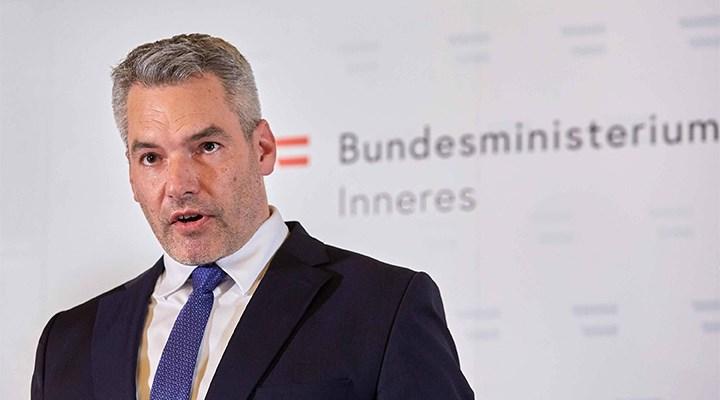 Avusturya İçişleri Bakanı Nehammer: Saldırgan IŞİD sempatizanı