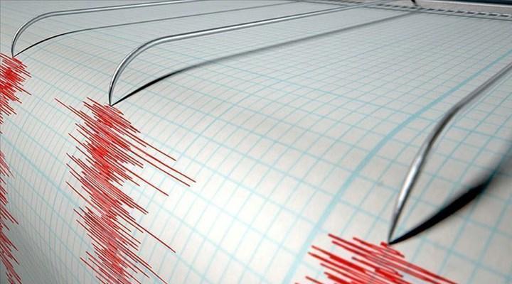 Marmara Denizi'nde 3.1 büyüklüğünde deprem