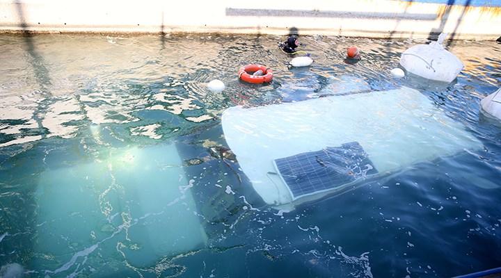 İzmir'de deniz altındaki enkaz da kaldırılıyor