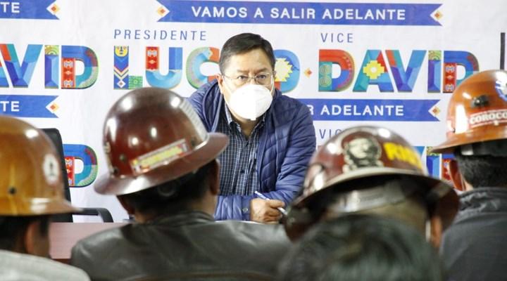 Bolivya'nın yeni sosyalist başkanı Luiz Arce'a bombalı saldırı düzenlendi