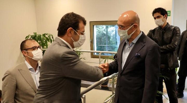 İBB Başkanı İmamoğlu, İzmir'i ziyaret etti: Hepimiz emre amadeyiz