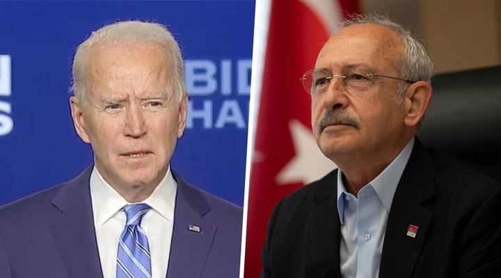 Kılıçdaroğlu'ndan Biden'a tebrik mesajı