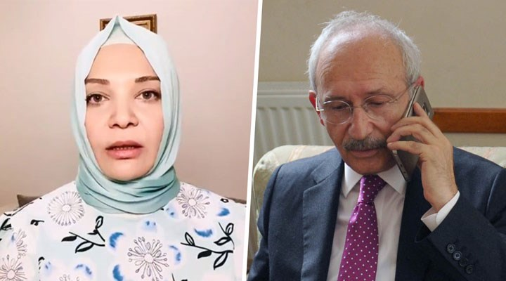 Kılıçdaroğlu'ndan Hilal Kaplan'a geçmiş olsun telefonu