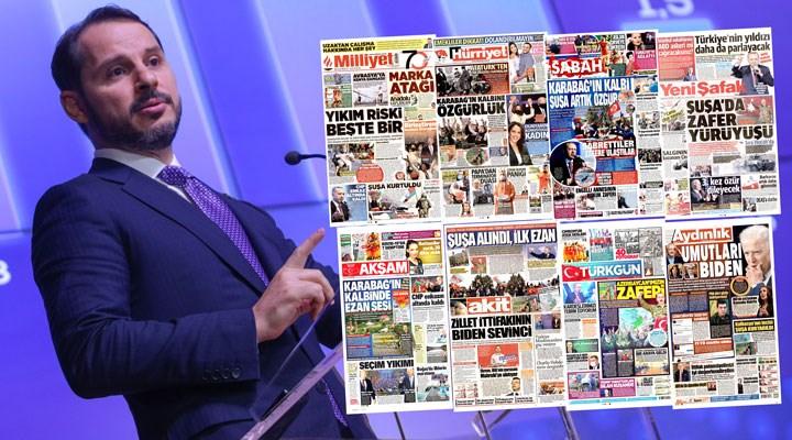 Gazete manşetleri: İzin çıkmadı, yandaşlar Berat Albayrak'ın istifasını görmedi