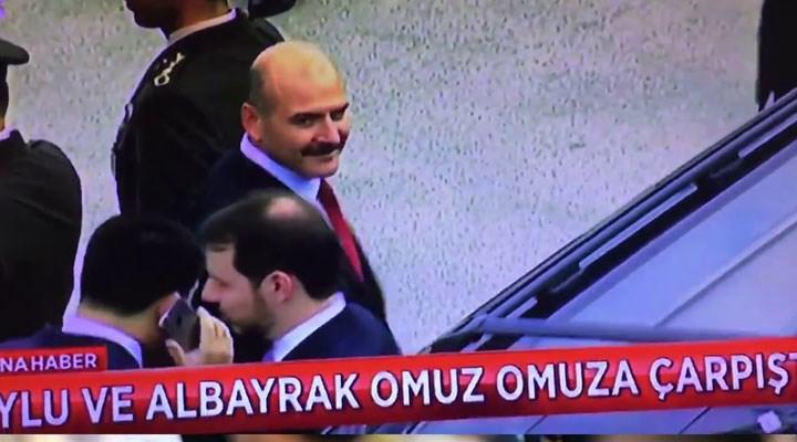 Süleyman Soylu: Dostum Berat Albayrak'a şükranlarımı sunuyorum