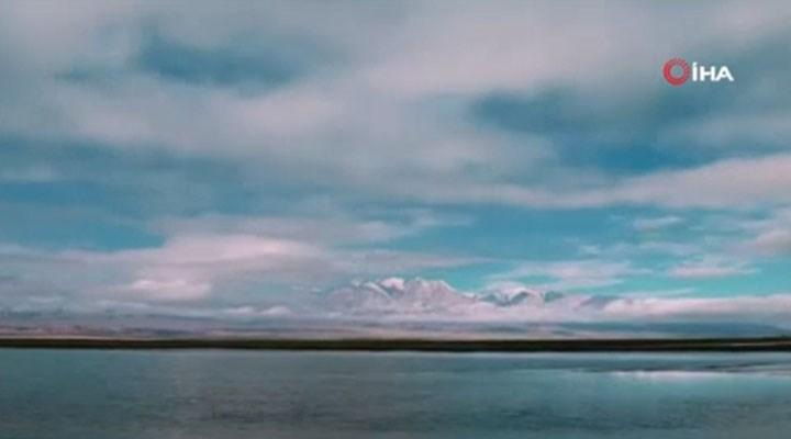 Qilian Buzulları alarm veriyor: 450 metre geri çekildi!