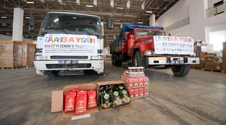 Karadeniz'den İzmir'e yardım eli: Dayanışma TIR'ları Fuar İzmir'de