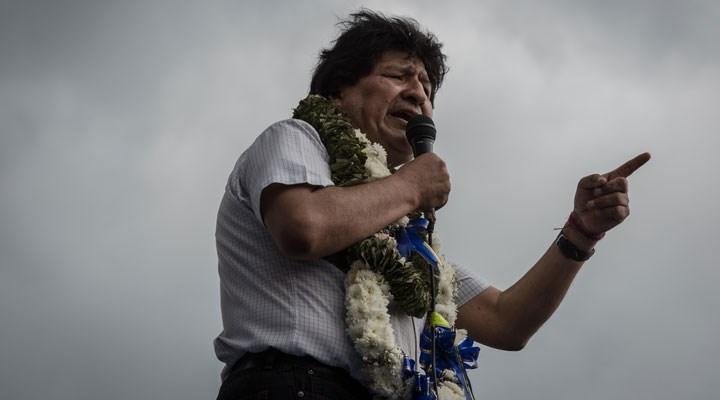 Morales: Bolivya'nın ve tüm dünyanın sağcıları bilsin, 'barbarlar' geri döndü!