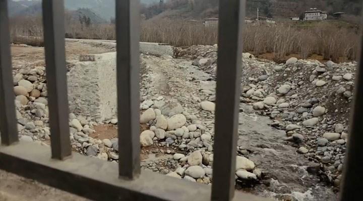 Yurttaşlar, Çağlayan Vadisi'ndeki doğa talanına tepkili: Vadime, suyuma, doğama dokunma!