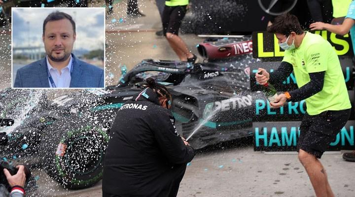 Cumhurbaşkanı danışmanından 'gazozuna' yapılan F1 ile ilgili açıklama