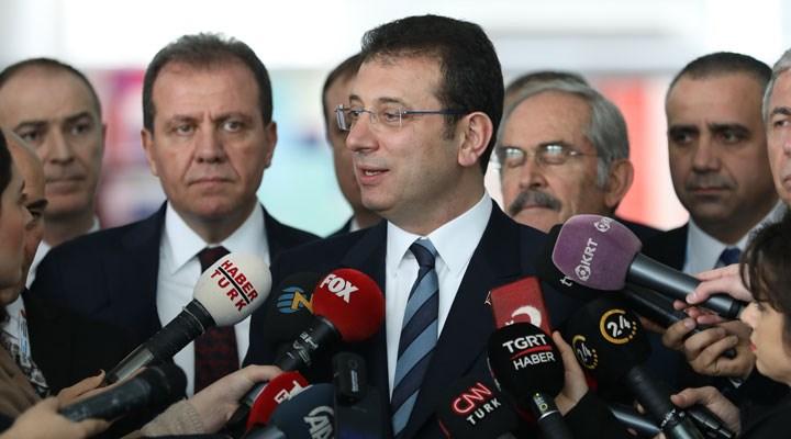 İmamoğlu'na, Kanal İstanbul'a karşı çıktığı için soruşturma açıldı!