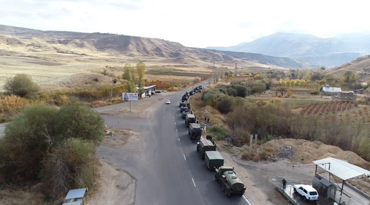 Rusya: Dağlık Karabağ'da gözlem noktalarının kurulumu tamamlandı