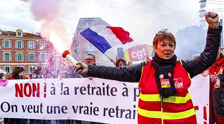 Fransa'da emeklilik hakkına gasp
