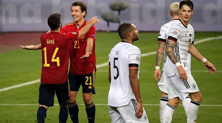 İspanya'dan Almanya karşısında farklı galibiyet