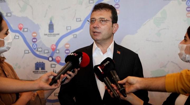 İmamoğlu, Kanal İstanbul ifadesini verdi
