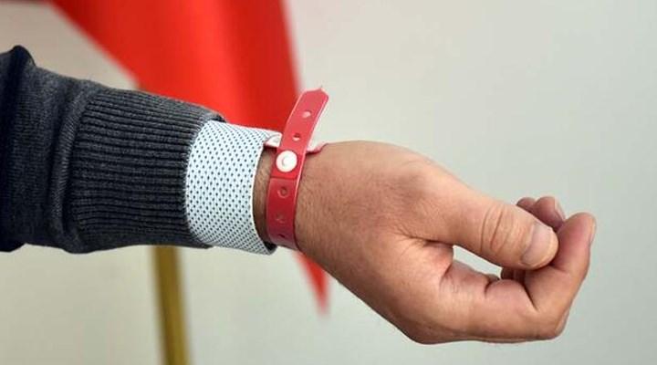 Kırıkkale'de Covid-19 hastaları 'elektronik bileklik'le takip edilecek