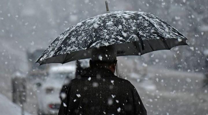 Meteoroloji'den Akdeniz'e sel, iç bölgelere kar uyarısı
