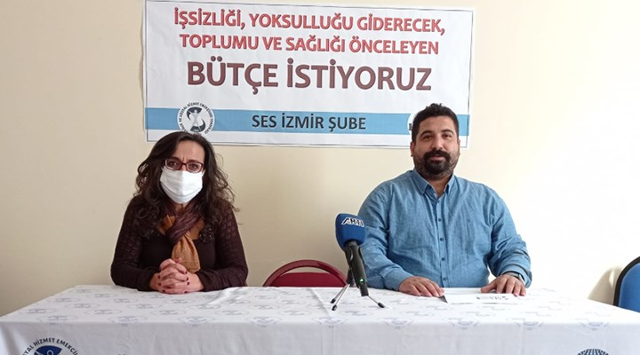 SES İzmir: Ranta değil, halka ve sağlığa bütçe