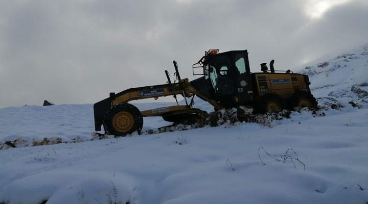 Muğla'ya ilk kar düştü