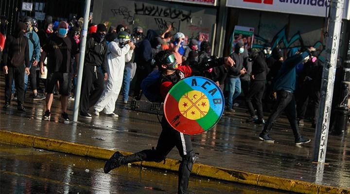 Brezilya'da görüntüler yankı uyandırdı: Şiddete karşı protesto