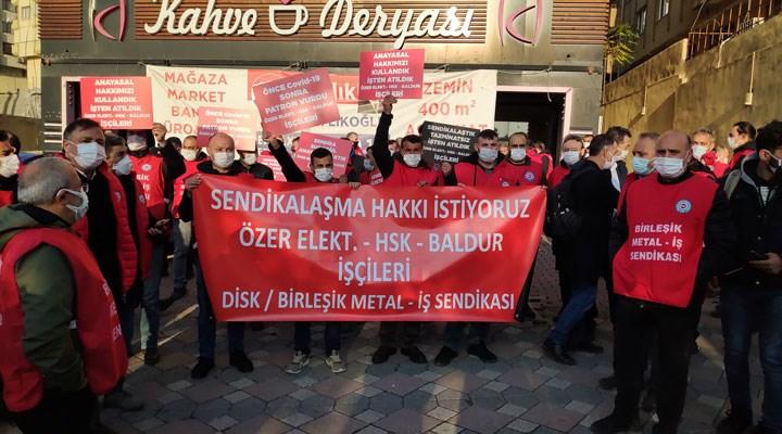 Ankara'ya yürümek istediği için gözaltına alınan 109 metal işçisi serbest bırakıldı
