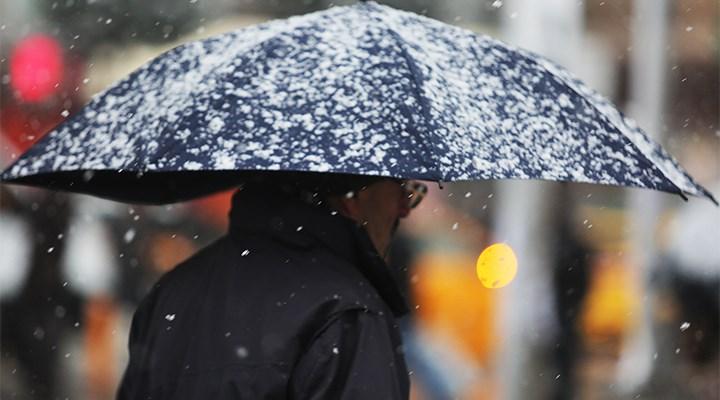 Meteorolojiden sağanak, kar ve fırtına uyarıları