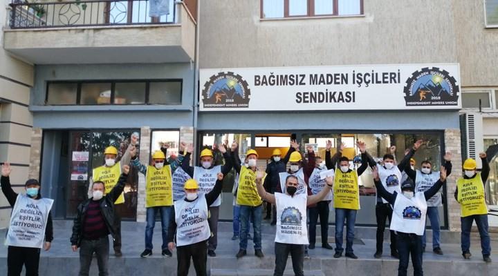 Hakları gasp edilen madenciler: Biz bu barikatları yıkacağız