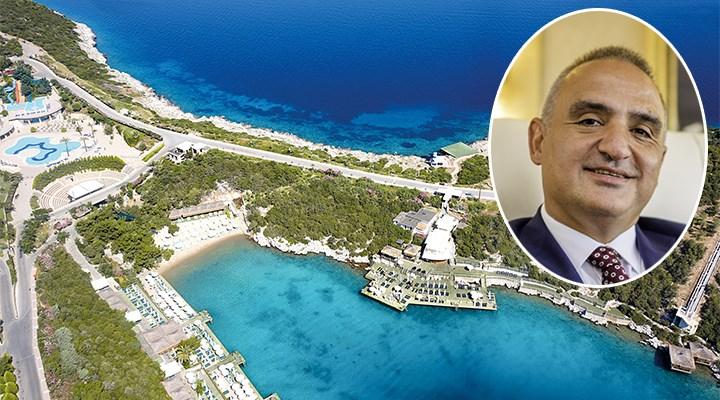Türkbükü'ndeki ünlü lüks oteli Bakan Ersoy'un şirketi aldı