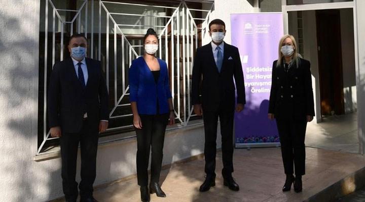 Beşiktaş'ta 'Kadın Dayanışma ve Yaşam Merkezi' hizmete başladı