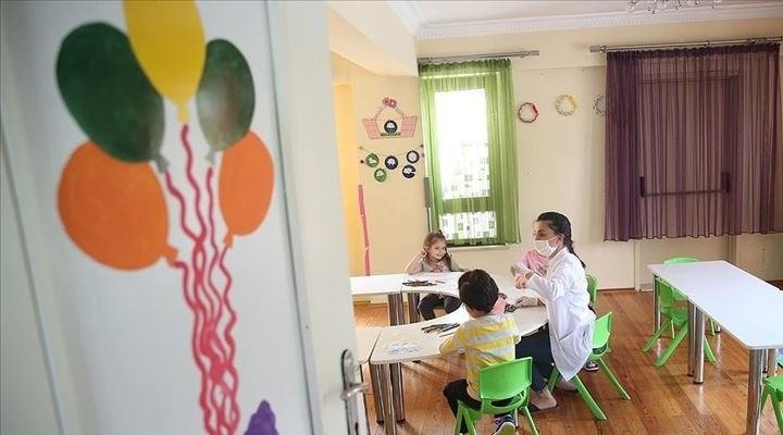 Tokat'ta anaokullarında uzaktan eğitime geçildi