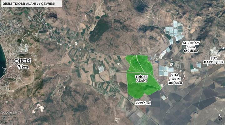 Dikili'de kurulması planlanan Organize Sanayi Bölgesi projesine tepki