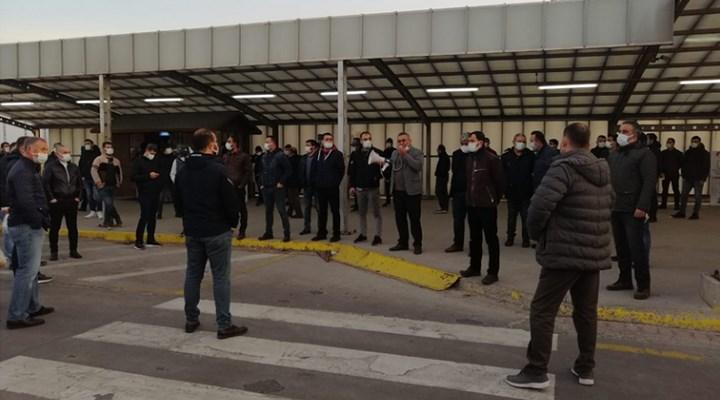 İşçiler, TÜPRAŞ'ın vardiya düzenlemesini protesto etti: Salgın fırsatçılığı