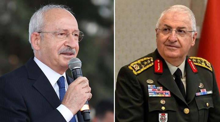 Kılıçdaroğlu'ndan Genelkurmay Başkanına 'siyasete karışma' mesajı