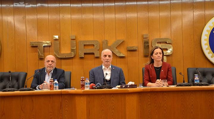 DİSK, Türk-İş ve Hak-İş'ten ortak açıklama: Asgari ücret vergiden muaf olsun