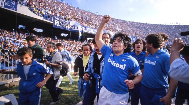 Napoli stadının ismi 'Diego Armando Maradona' olarak değiştirildi