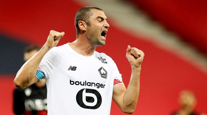 UEFA Avrupa Ligi'nde haftanın oyuncusu Burak Yılmaz seçildi