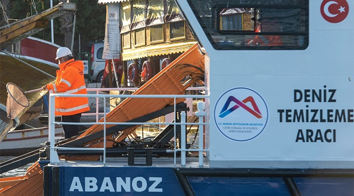 Mersin'de denizi kirleten 25 gemiye 42 milyon lira ceza