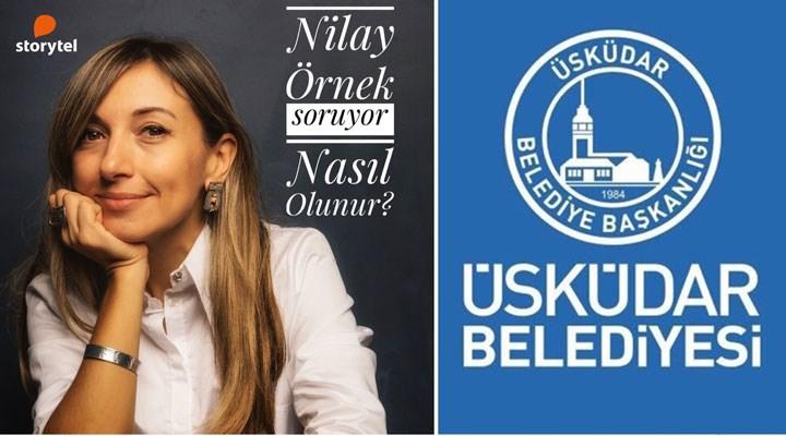 AKP'li Üsküdar Belediyesi, gazeteci Nilay Örnek'in program adı ve formatını 'kopyaladı'