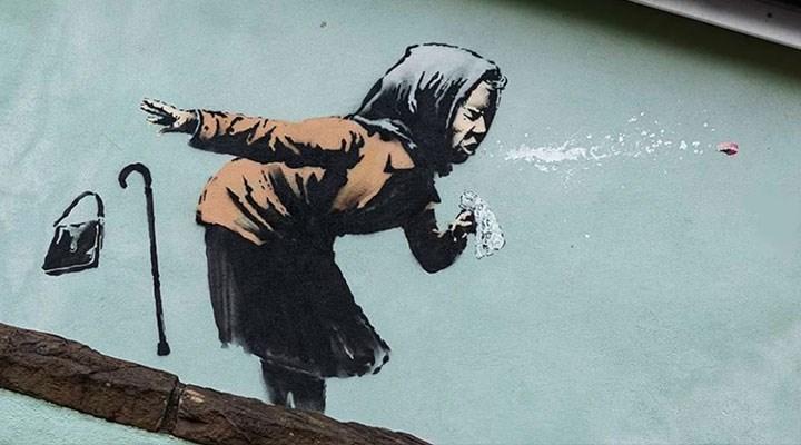 Banksy'nin son eseri: Hapşırık
