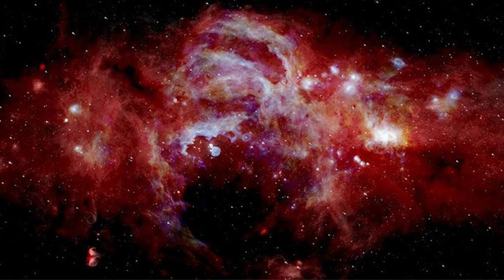 Galaksi merkezinden gelen garip fotonlar