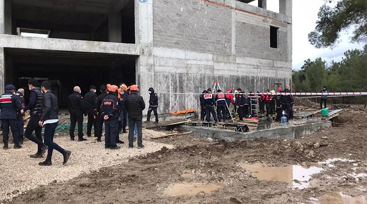 Denizli'de foseptik çukuruna giren 3 inşaat işçisi hayatını kaybetti