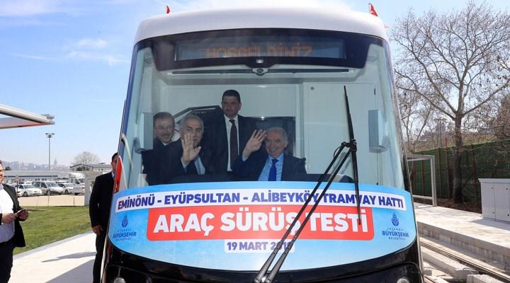 AKP'li İBB yönetiminin seçim oyunu ortaya çıktı: Ray döşemeden test sürüşü yapmışlar
