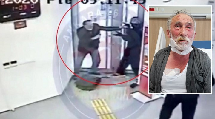 Banka soygununa müdahale edip silahla vurulan adam: O bankayla geçmişim var