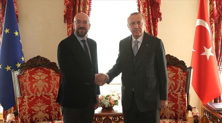 Cumhurbaşkanı Erdoğan, AB Konseyi Başkanı Michel ile telefonda görüştü