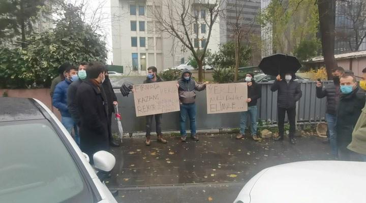 Devletin test kiti satın aldığı şirket, borsada hile yaptığı iddiasıyla protesto edildi